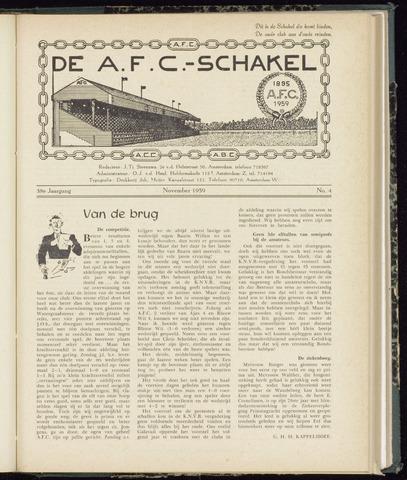 Schakels (clubbladen) 1959-11-01
