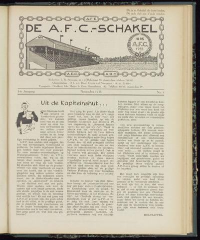 Schakels (clubbladen) 1955-11-01