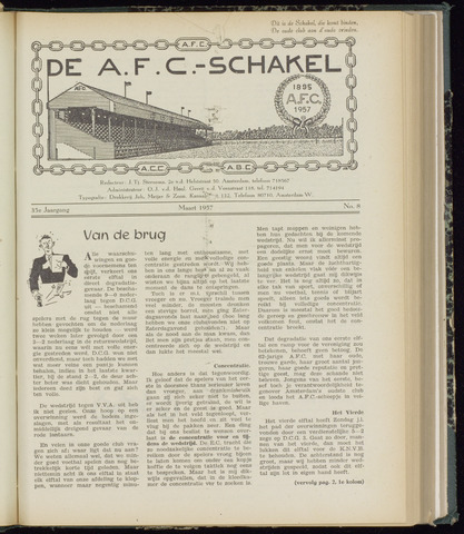 Schakels (clubbladen) 1957-03-01