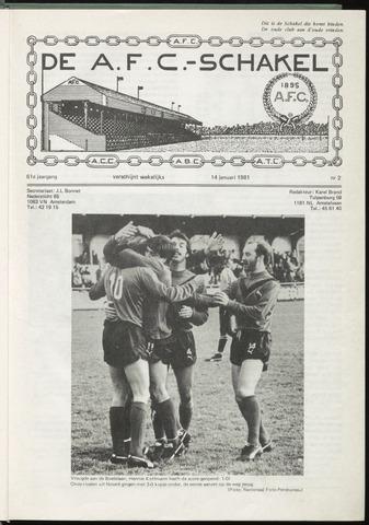 Schakels (clubbladen) 1981-01-14
