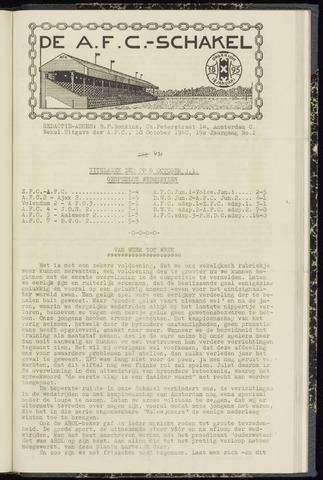 Schakels (clubbladen) 1940-10-10