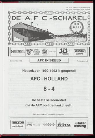 Schakels (clubbladen) 1992-09-02