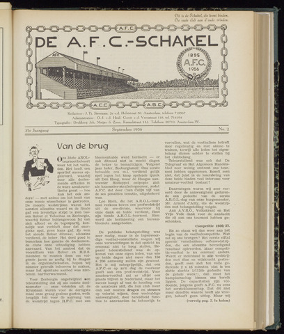 Schakels (clubbladen) 1956-09-01