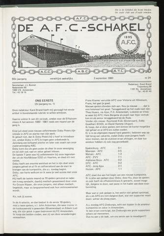 Schakels (clubbladen) 1980-09-03