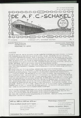 Schakels (clubbladen) 1977-02-09