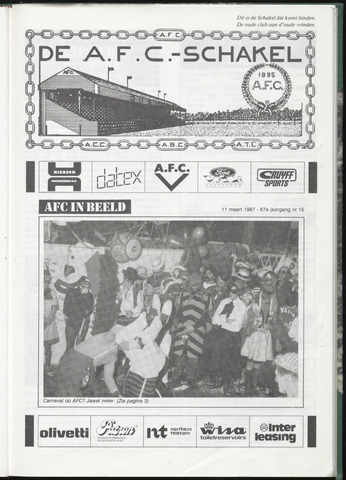 Schakels (clubbladen) 1987-03-11