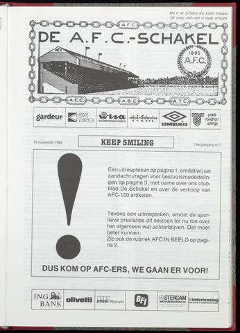 Schakels (clubbladen) 1995-11-15