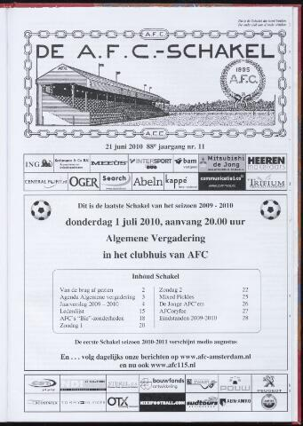 Schakels (clubbladen) 2010-06-21