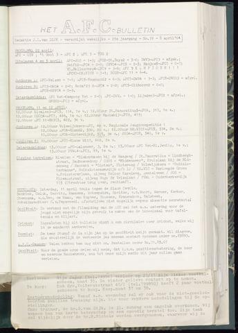 Bulletins (vnl. opstellingen) 1964-04-08