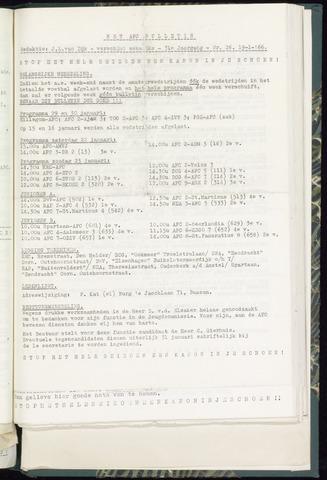Bulletins (vnl. opstellingen) 1966-01-19