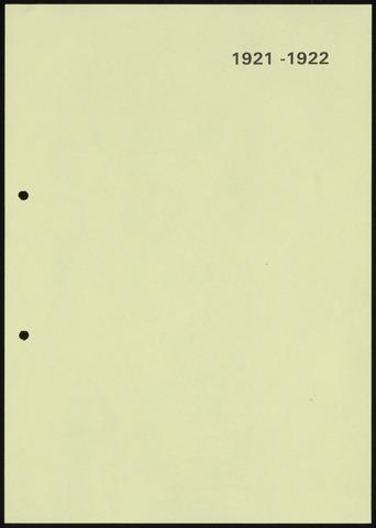 Jaarverslagen 1922-06-01
