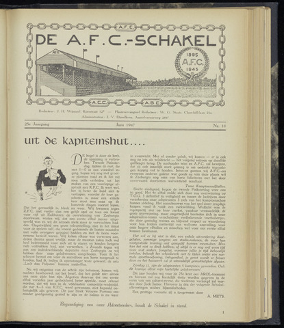 Schakels (clubbladen) 1947-06-01