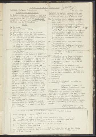 Bulletins (vnl. opstellingen) 1952-06-19