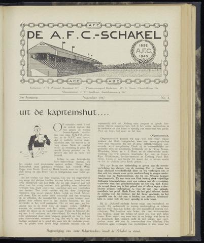 Schakels (clubbladen) 1947-11-01