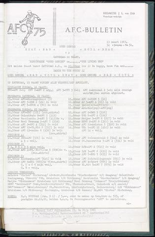 Bulletins (vnl. opstellingen) 1969-03-19