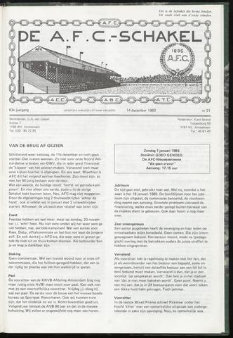 Schakels (clubbladen) 1983-12-14