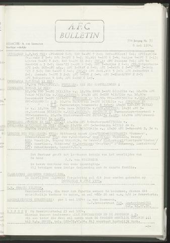 Bulletins (vnl. opstellingen) 1974-05-08