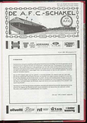 Schakels (clubbladen) 1989-06-14