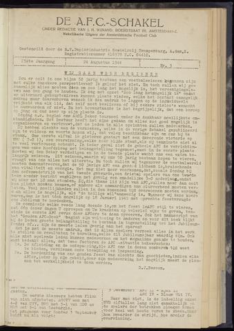 Schakels (clubbladen) 1944-08-24