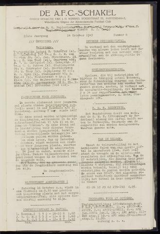 Schakels (clubbladen) 1943-10-14