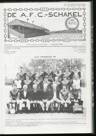 Schakels (clubbladen) 1983-09-07