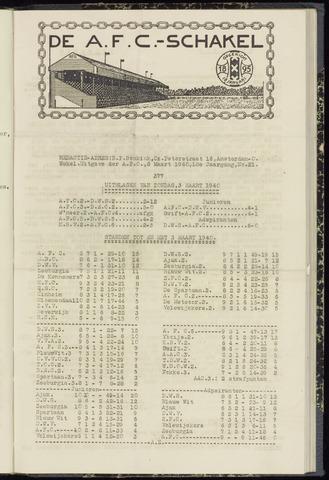 Schakels (clubbladen) 1940-03-07