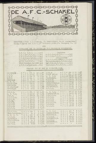 Schakels (clubbladen) 1938-11-17