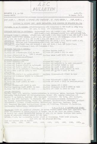 Bulletins (vnl. opstellingen) 1967-10-04