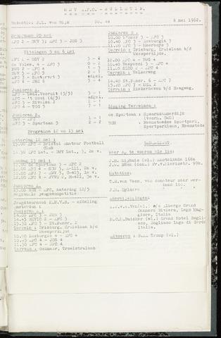 Bulletins (vnl. opstellingen) 1962-05-08