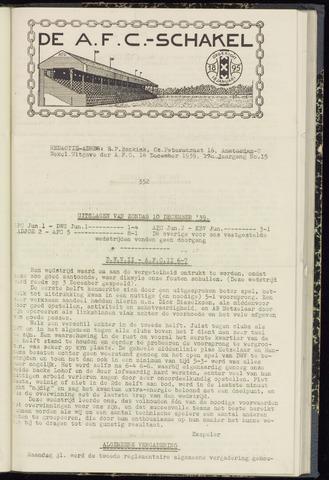Schakels (clubbladen) 1939-12-14