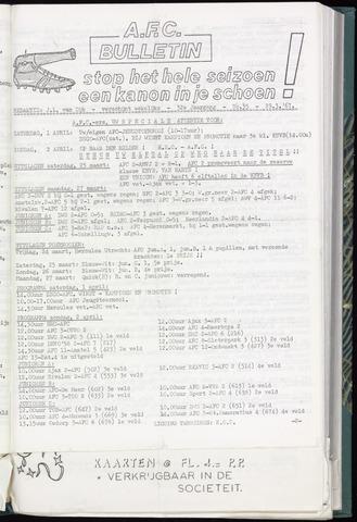 Bulletins (vnl. opstellingen) 1967-03-29
