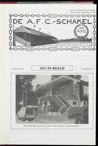 Schakels (clubbladen) 1993-08-11