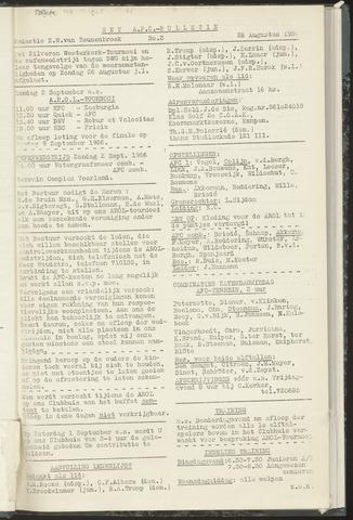 Bulletins (vnl. opstellingen) 1956-08-28