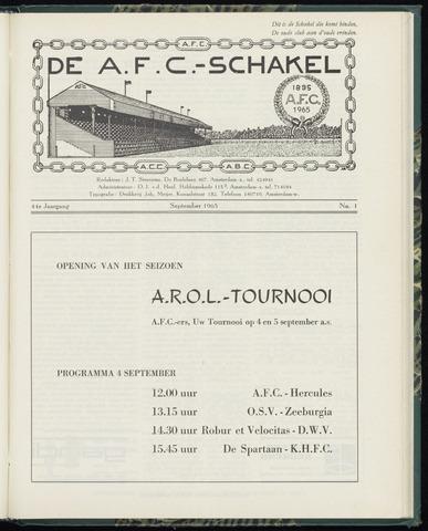 Schakels (clubbladen) 1965-09-01