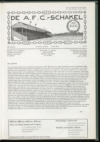Schakels (clubbladen) 1978-05-03