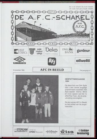 Schakels (clubbladen) 1994-11-09