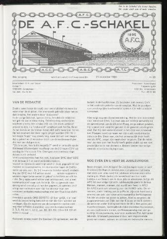 Schakels (clubbladen) 1984-11-21