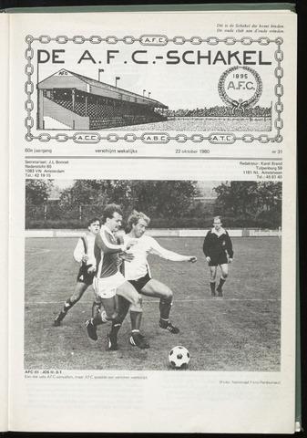 Schakels (clubbladen) 1980-10-22