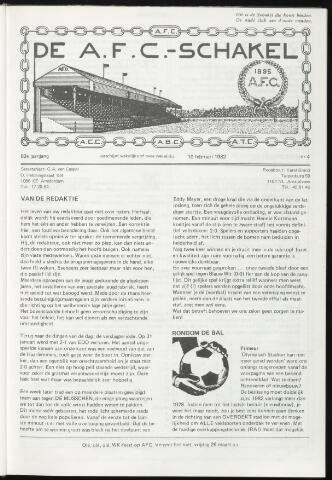 Schakels (clubbladen) 1982-02-10