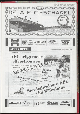 Schakels (clubbladen) 1988-11-23