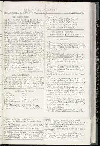 Bulletins (vnl. opstellingen) 1960-02-02