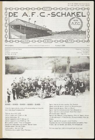 Schakels (clubbladen) 1984