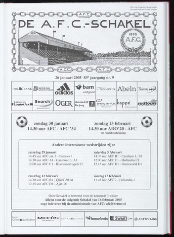 Schakels (clubbladen) 2005-01-26