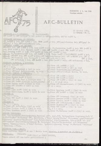 Bulletins (vnl. opstellingen) 1969-10-29