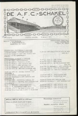 Schakels (clubbladen) 1978-01-04