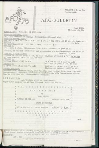 Bulletins (vnl. opstellingen) 1968-05-08