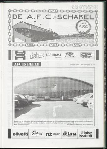 Schakels (clubbladen) 1988-04-27