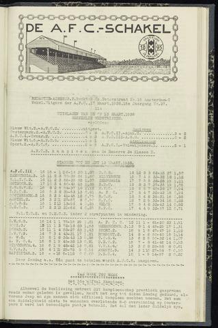 Schakels (clubbladen) 1938-03-17