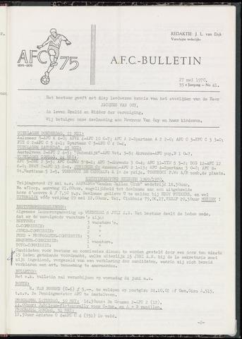 Bulletins (vnl. opstellingen) 1970-05-26