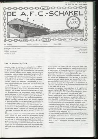 Schakels (clubbladen) 1983-06-08